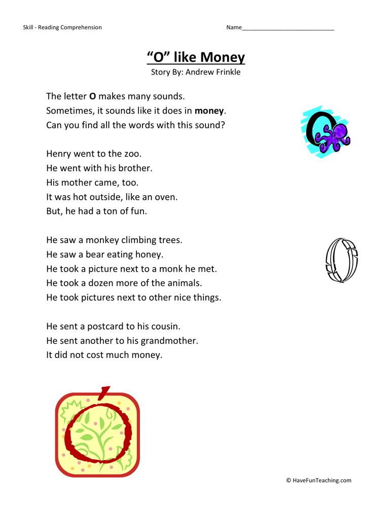 ... worksheets phonics reading comprehension worksheets second grade