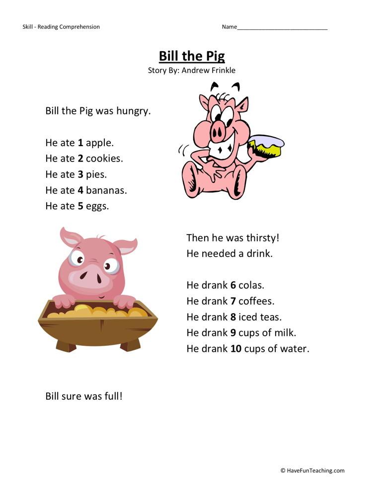 Bill The Pig