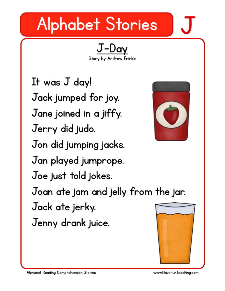 Reading Comprehension Worksheet - J-Day