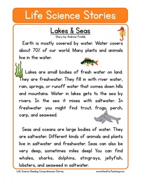 Lakes & Seas