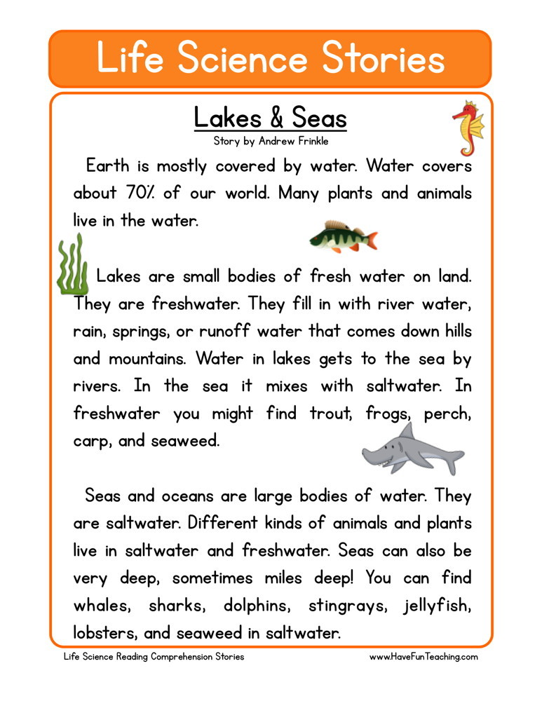 Reading Prehension Worksheet Lakes Seas. Lakes Seas. Worksheet. World Rivers Worksheet At Mspartners.co