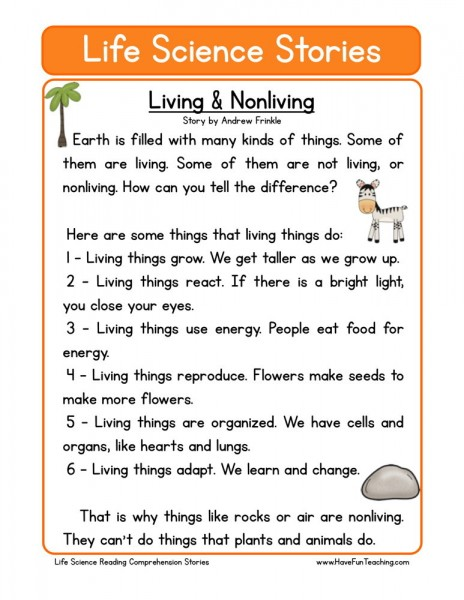 Living & Nonliving