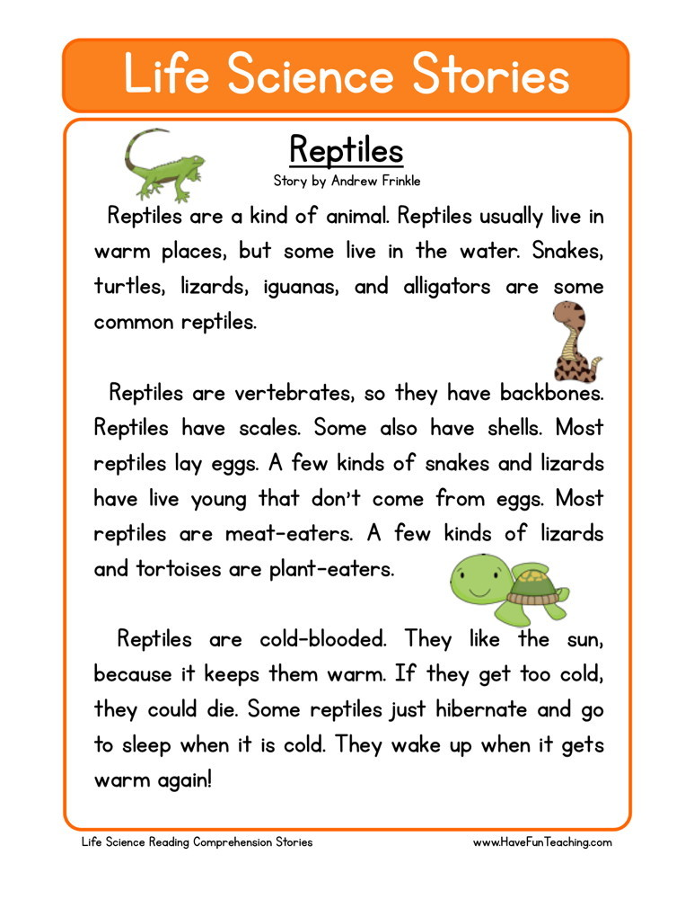 ... worksheets fourth grade reading comprehension worksheets science