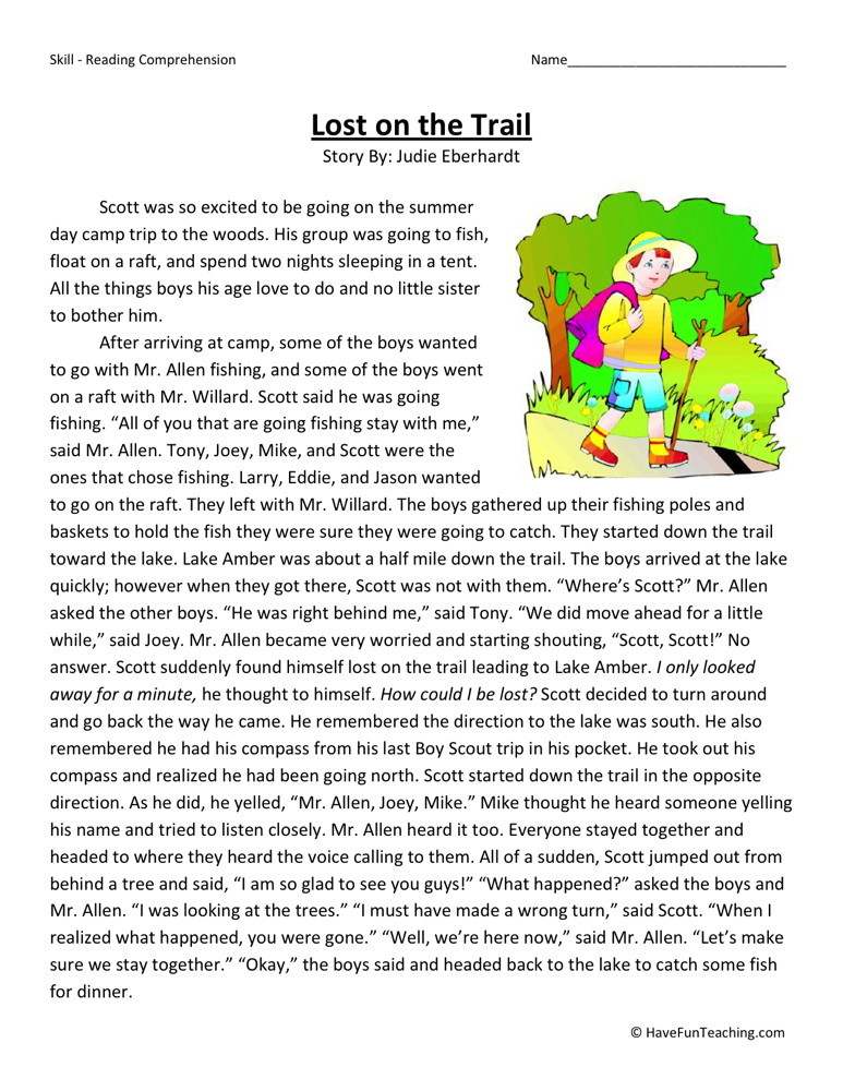Original besides Original as well Reading For Kindergarten Stop Sign likewise Blends together with Big Vocabulary Matching Worksheet Elementary Family. on first grade reading comprehension worksheets