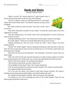 fifth grade reading comprehension worksheets. Black Bedroom Furniture Sets. Home Design Ideas