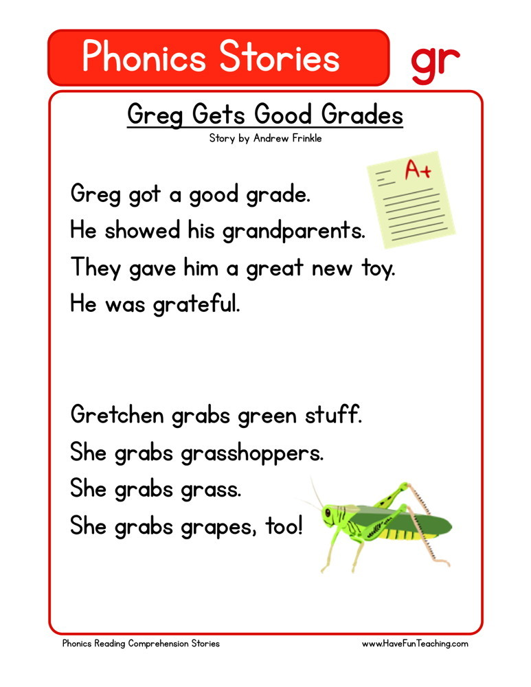 Greg Gets Good Grades