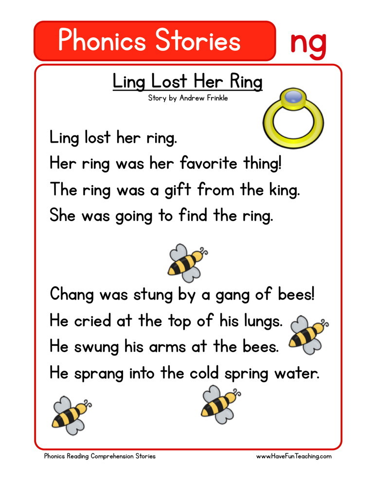 Ling Lost Her Ring