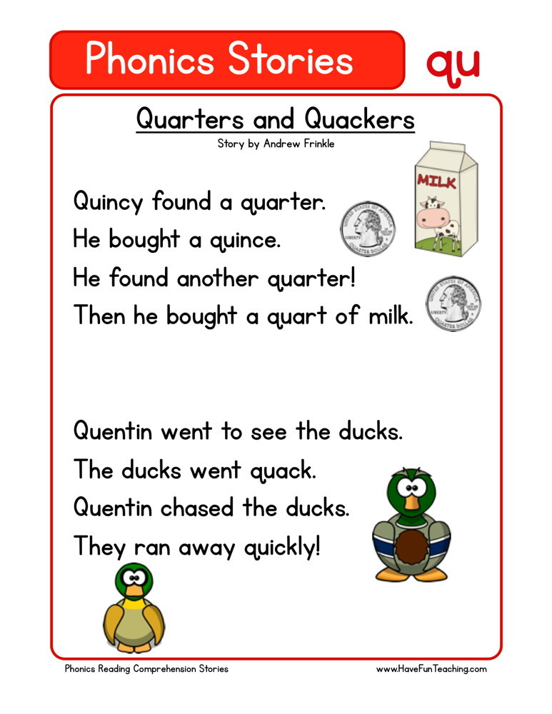 Quarters and Quackers