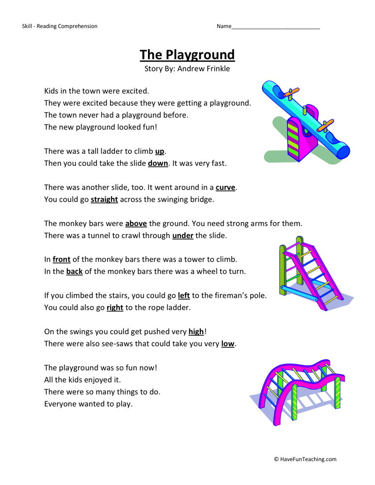 First Grade Comprehension Worksheets Free – 1st Grade Reading Comprehension Worksheets Free